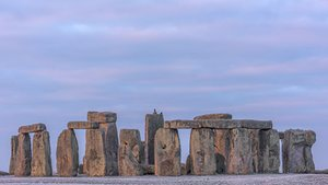 If Stonehenge is a part of our world heritage, why not lions? Stonehenge, a Unesco World Heritage Site, at dawn in Wiltshire, England