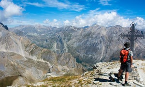 Mountain walking in Piedmont with Inntravel