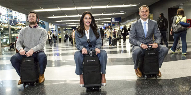 Rideable Suitcase