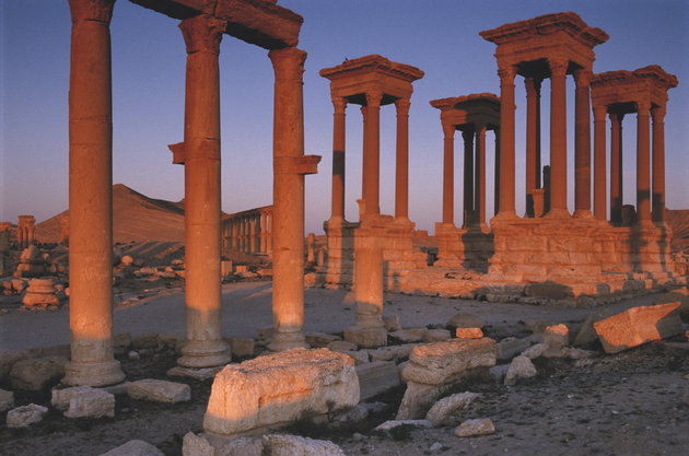 Great Tetrapylon at Palmyra