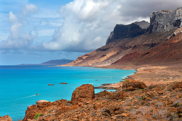 Seascape, Indian Ocean, island Socotra, Yemen