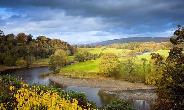 Ruskin's view, near Kirkby Lonsdale