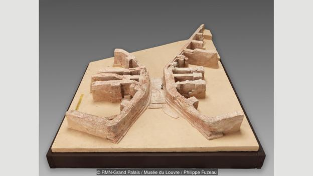 This model represents the first bridge in history; Mesopotamia means 'the land between rivers' in ancient Greek