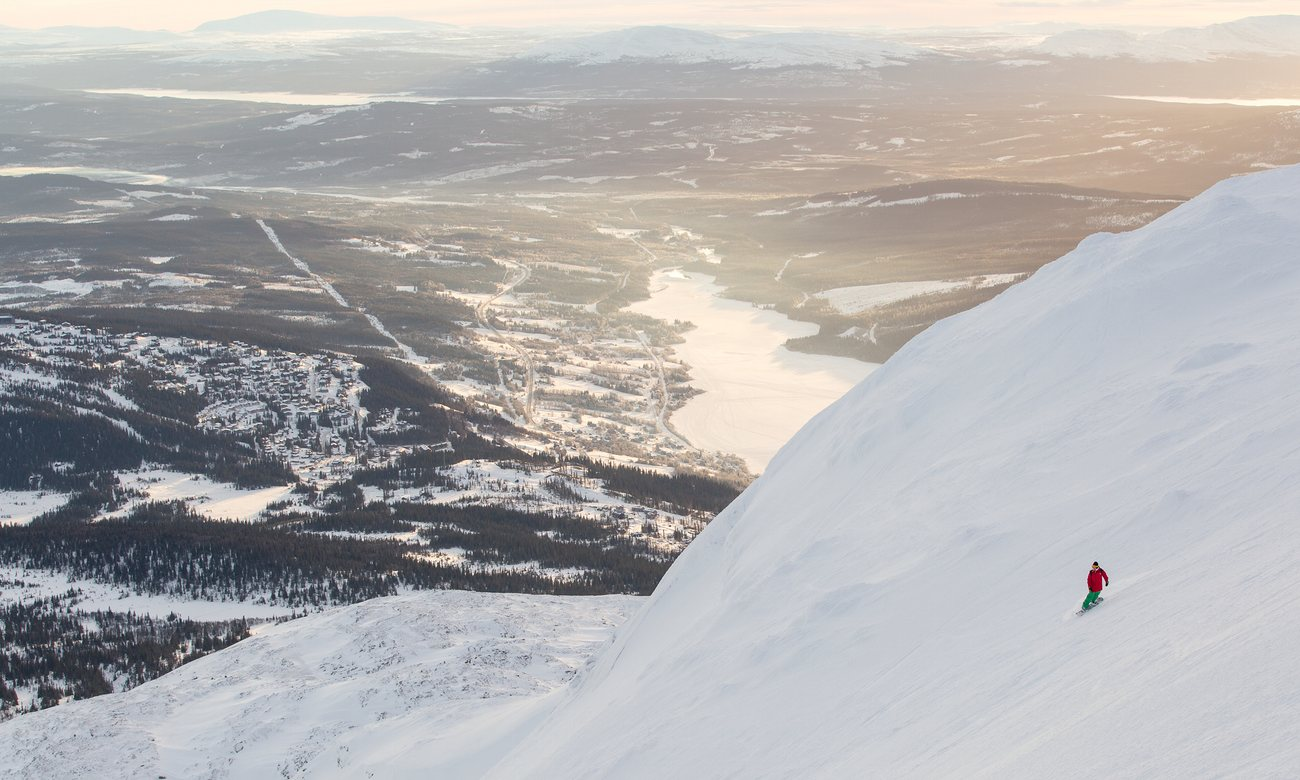 Here we Åre … 'In Jämtland, the wilderness is massive, with a lot of space to explore.'