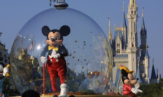 Not taking the Mickey … Orlando, Florida, home to Walt Disney World, is one of the US destinations that has seen a significant drop in flight searches from the UK, according to Kayak.